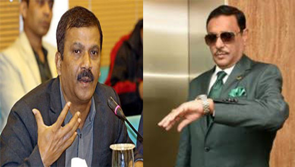 Asif Nazrul 3 questions about Obaidul Quader's watch