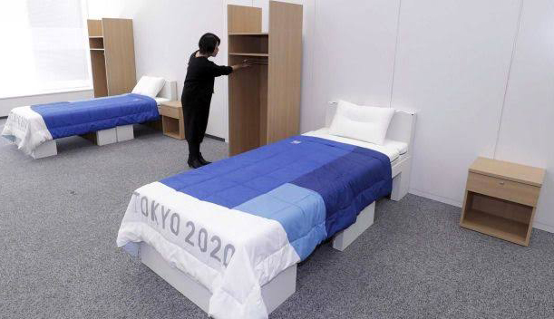 Tokyo 2020 : Recycled cardboard used for beds at Olympics and Paralympics