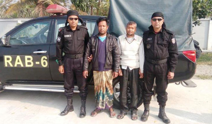 Two militants held in Khulna