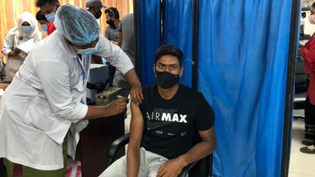 Bangladesh cricketer receive 2nd dose of Covid-19 vaccine